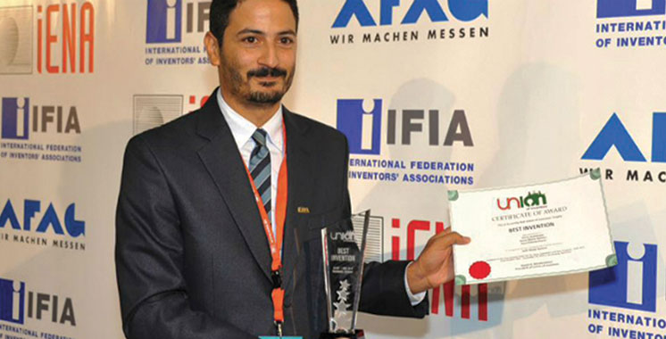 L'inventeur marocain Majid El Bouazzaoui primé au Canada et en Chine