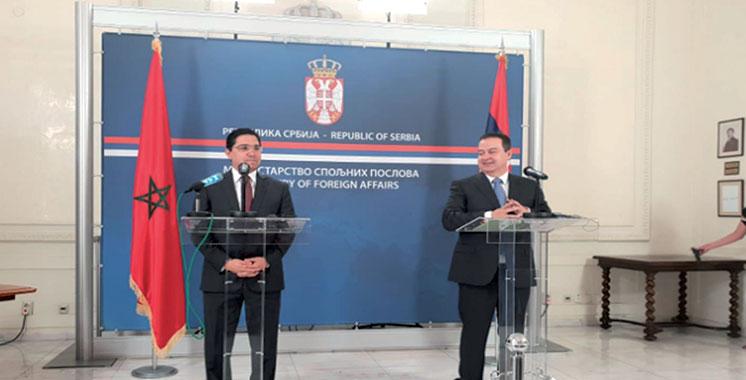 La Serbie première étape : Nasser Bourita en visite dans plusieurs pays des Balkans