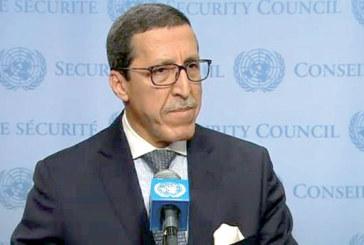 Omar Hilale élu président du Segment humanitaire de l'Ecosoc