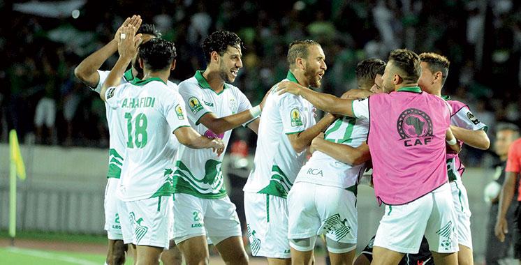 Coupe de la CAF : Le Raja prend une option sur  le dernier carré