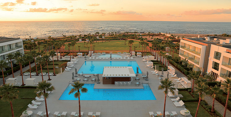 Situé au Golf de Bouznika : Vichy Célestins Spa Hôtel, une nouvelle adresse de tourisme et bien-être
