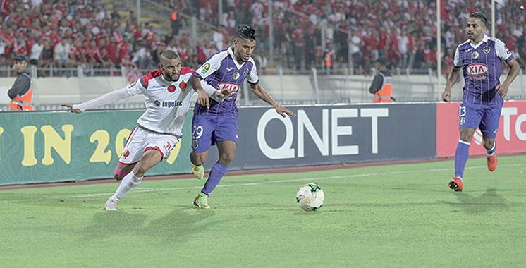 Championnat arabe des clubs : Le Raja très proche des 1/8èmes, le Wydad dos au mur