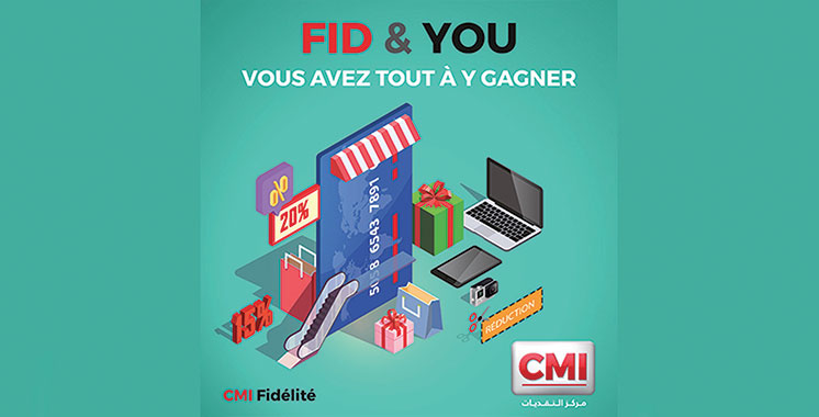 Campagne de fidélité FID&You : CMI récompense le paiement  par carte bancaire