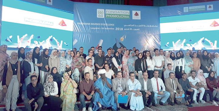 La Fondation Phosboucraâ récompense les bacheliers méritants : 157 étudiants de la région du Sud bénéficient de la bourse d'excellence