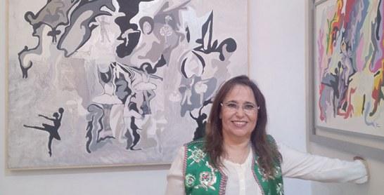 Dans une exposition collective internationale : Amina Bedraoui Idrissi s'immerge dans Fès l'Andalouse