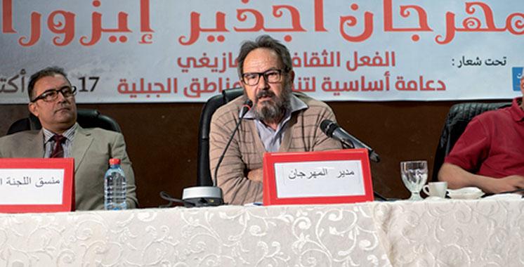Le Festival «Ajdir Izourane» aura lieu du 17 au 20 octobre