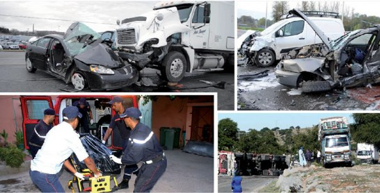 Sécurité routière : Le nombre de tués sur les routes a reculé de 0,6% en octobre