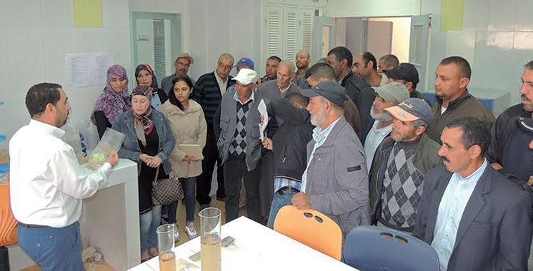 Al Hoceima : Sensibilisation sur les analyses du sol et la fertilisation de l'amandier