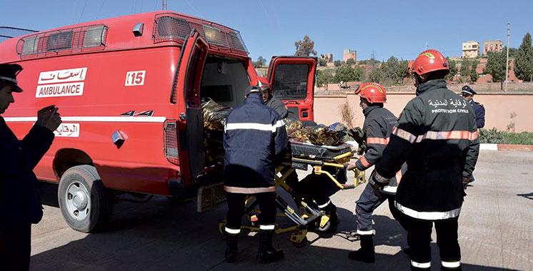 Six morts dans un accident  de la circulation près de Dakhla