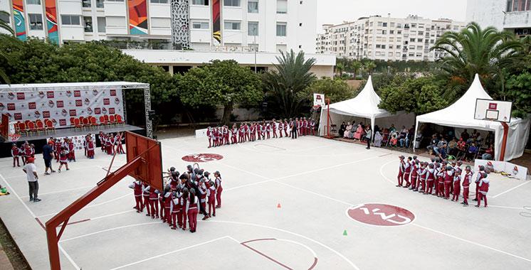 Casablanca : Inauguration d'un centre de basket-ball au profit des jeunes d'Al-Hank