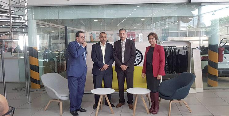Citroën : Deux conventions en faveur  des commerçants et professionnels