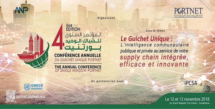 Conférence annuelle du Guichet unique PortNet : L'intelligence communautaire en débat à Casablanca