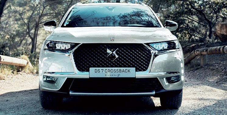 ds 7 crossback e tense 4 4 l hybride 100 performant de ds automobiles aujourd 39 hui le maroc. Black Bedroom Furniture Sets. Home Design Ideas