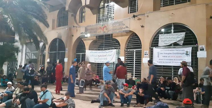 Rabat : Décès d'un non-voyant en sit-in au siège du département de Hakkaoui