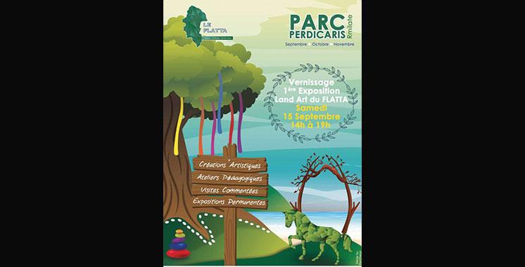 2ème Festival Land Art Tanger-Tétouan Al-Hoceïma : 12 artistes marocains égaient le parc Perdicaris par 2 installations