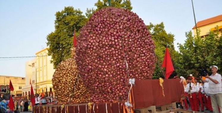 Le 5è Festival national des oignons d'El Hajeb les 12 et 13 octobre