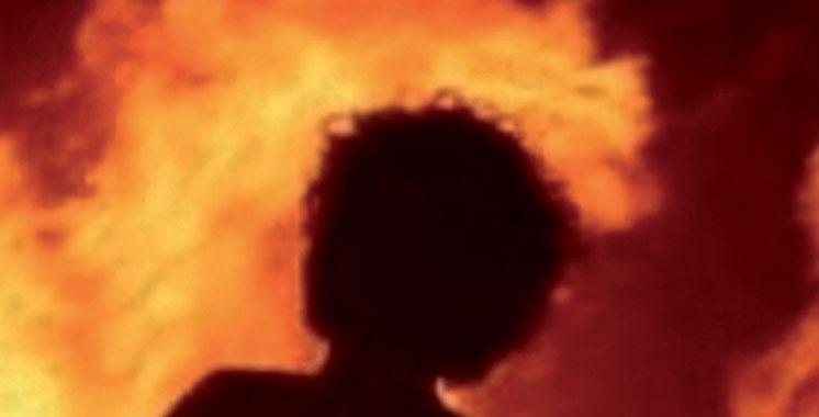 Rabat : Un malade mental se met le feu