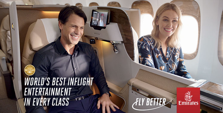 Emirates lance sa nouvelle signature «Fly Better»