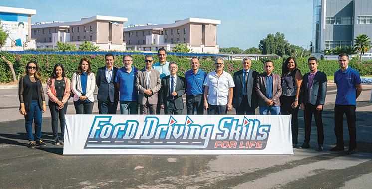 Formation à la conduite sécuritaire : Casablanca a accueilli la première édition  du programme Ford Driving Skills for Life