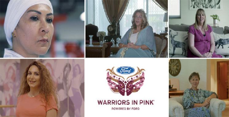 Fruit de l'engagement citoyen de l'entreprise : Ford présente ses Warriors in Pink 2018
