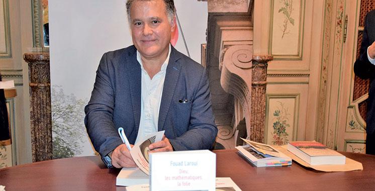 Fouad Laroui présente à Paris son nouveau  livre «Dieu, les mathématiques, la folie»
