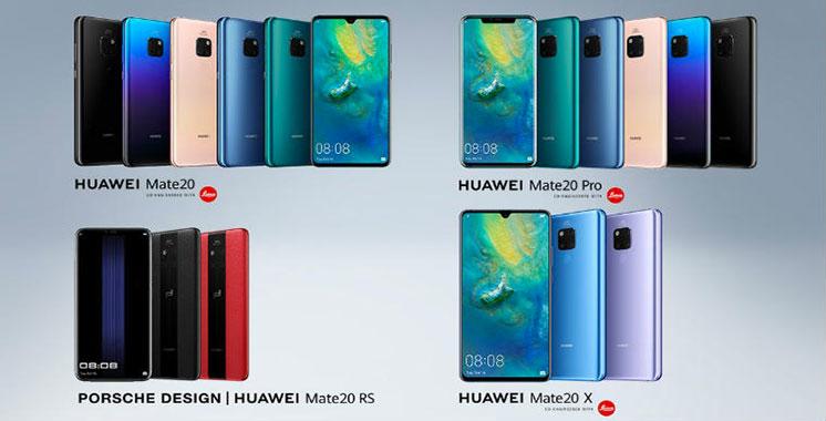 Smartphones : Huawei Mate 20, la série «la plus puissante du marché»