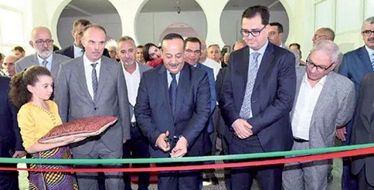 Inauguration de la 2ème tranche  du Centre d'art moderne de Tétouan