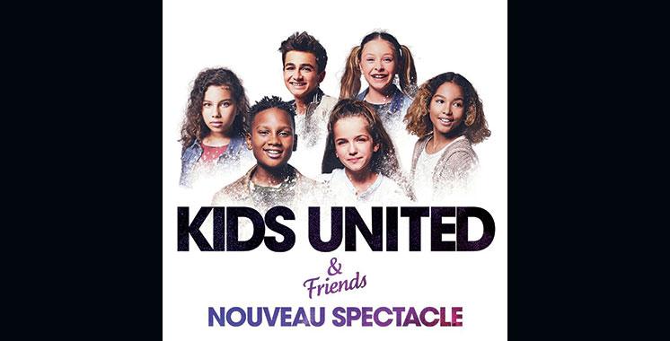 Les Kids United de retour au Maroc  pour la 3ème fois