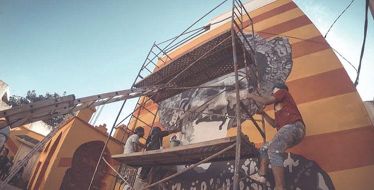 Oujda : L'ancienne médina s'orne de fresques murales géantes