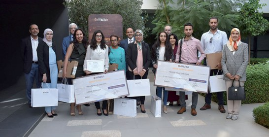 Les Masen Talents Awards : Trois étudiants primés