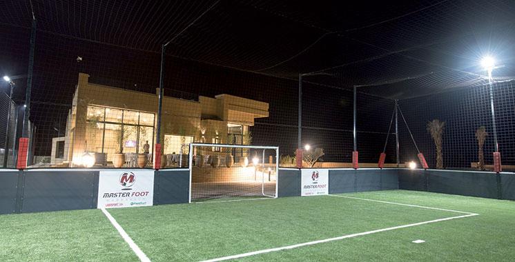 Marrakech : Un nouveau centre  de football dernière génération ouvre ses portes
