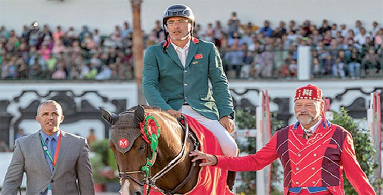 Morocco Royal Tour : El Ghali Boukaa remporte le Grand Prix SAR le Prince Héritier Moulay El Hassan
