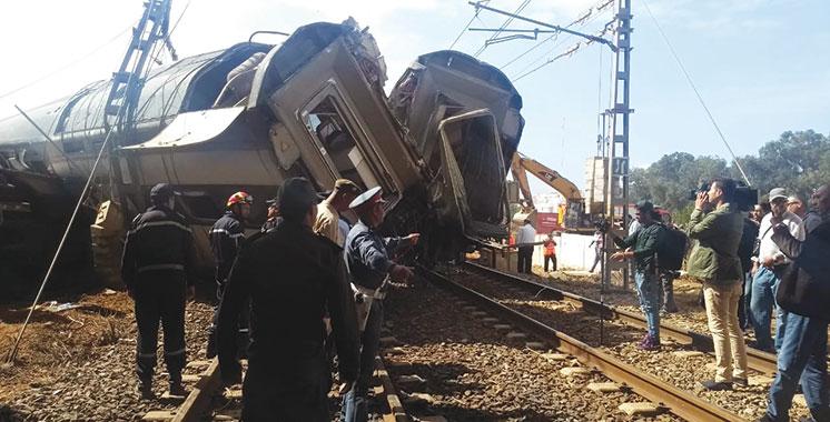 Déraillement de train à Bouknadel : L'ONCF dément certaines informations erronées