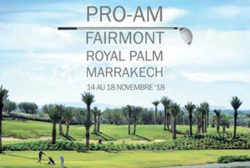 Golf : Fairmont Royal Palm Marrakech abrite la 1ère édition du Pro-Am