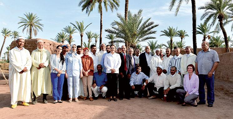 Palmeraie de Marrakech : SAR la Princesse Lalla Hasnaa visite deux projets agricoles pilotes