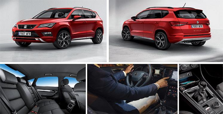 Elle a été désignée meilleur SUV en 2017 : SEAT Ateca enfin disponible au Maroc