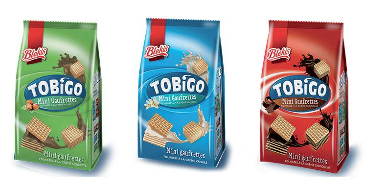 Tobigo : Une nouvelle gaufrette pour petits et grands