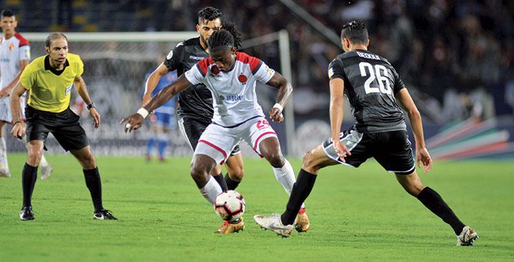 Coupe arabe des clubs champions : Le Wydad tenu en échec par l'ES Sahel