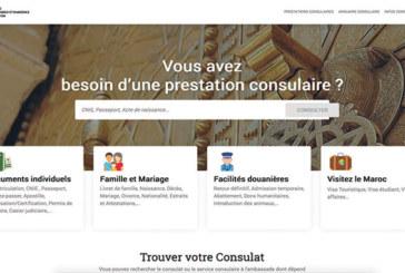 Présentation à Rabat du nouveau portail «consulat.ma» dédié  aux MRE