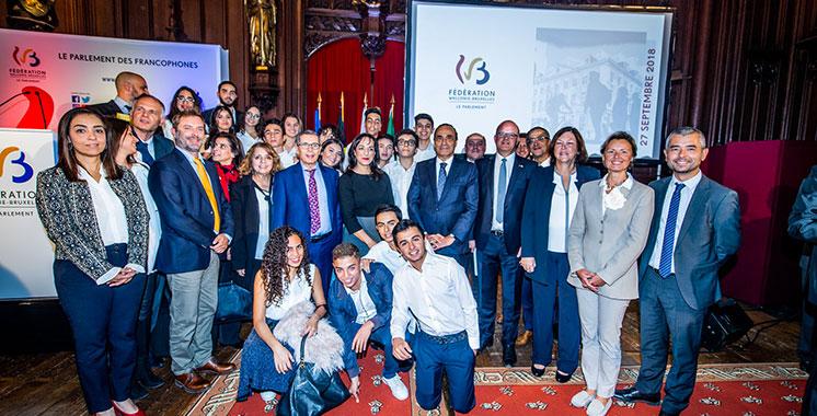 A l'occasion de la fête de la Fédération Wallonie-Bruxelles : La première promotion de l'école belge de Casablanca mise à l'honneur