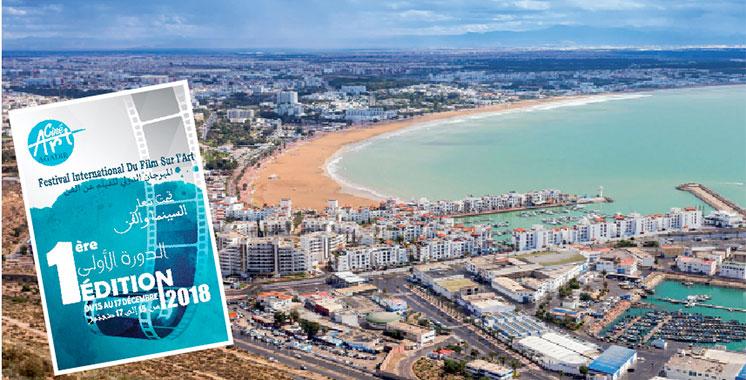 Le 2ème Agadir Art Fair du 15 au 17 décembre : 1er événement dédié au cinéma et à l'art dans toutes ses formes