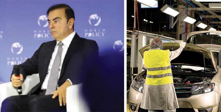 Carlos Ghosn : Comment le Groupe Renault s'est installé à Tanger