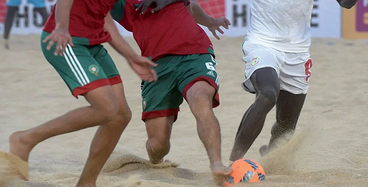 Championnat d'Afrique de beach soccer : Le Maroc dans le Groupe A