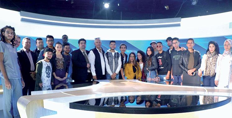 La SNRT forme des étudiants en audiovisuel