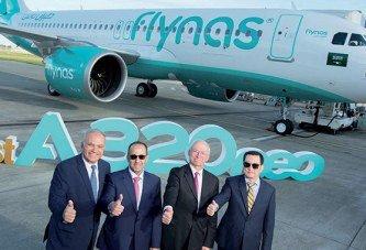 Flynas premier transporteur saoudien à réceptionner l'A320neo
