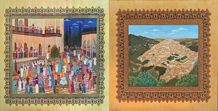 «De la mémoire en miniature»  de Abdelhay Demnati à la B&S Art Gallery à Casablanca