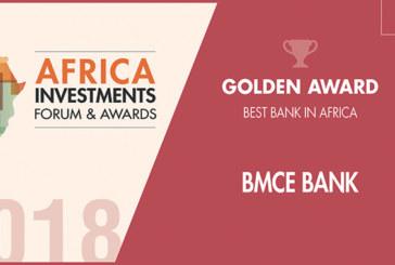 BMCE Bank of Africa désignée «Banque Africaine de l'Année 2018»