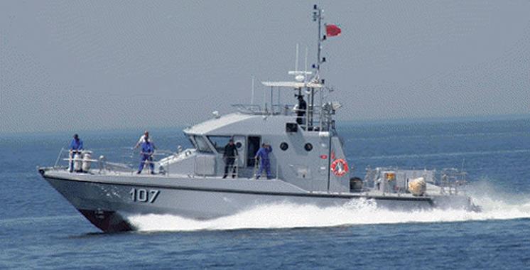 Migration illégale : La Marine royale porte  assistance à 112 personnes