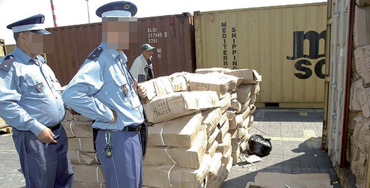 Brigade nationale des douanes : Plus de 4 millions DH de marchandise saisie à Hay Mohammadi