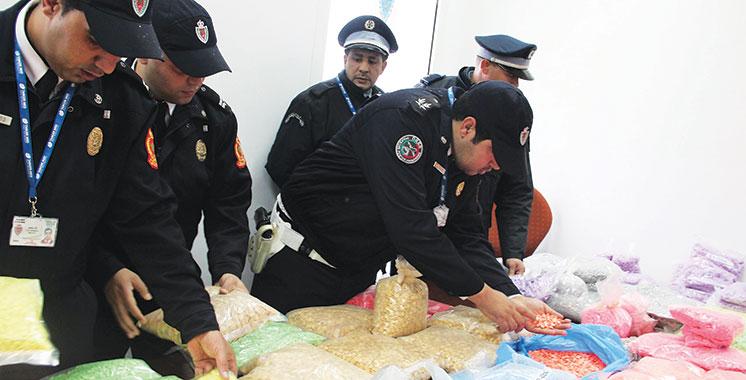 Saisie de 493.700 comprimés d'ecstasy au port de Tanger-Med
